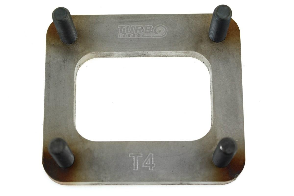 Flansza turbo T4 szpilki M10 - GRUBYGARAGE - Sklep Tuningowy